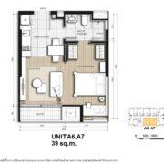 Unit A2 43 sqm
